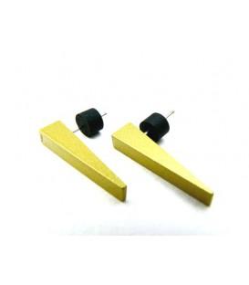 Gele oorbellen van Tjonge Jonge