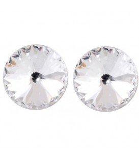 Helder kristal Swarovski oorbellen